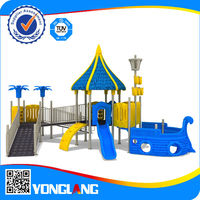 Outdoor children disabled playground equipment for handicapped