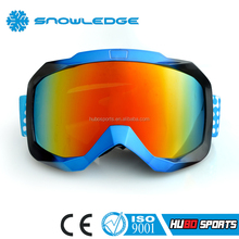 China Factory Price Water Transfer Printing Multi-color Frame Safty Ski Goggle HB-101