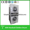 Commercial laundry twin tub washing machine