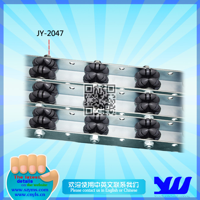 roller conveyor for packing | roller track | Slide rail for delivery system | JY-2047