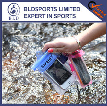 Wholesale price promotional transparent PVC waterproof mobile phone bag