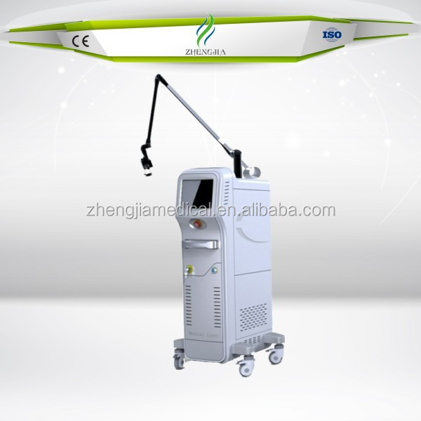 Vertical Fractional Co2 Laser/women vaginal tightening Machine/skin wrinkle removal quickly