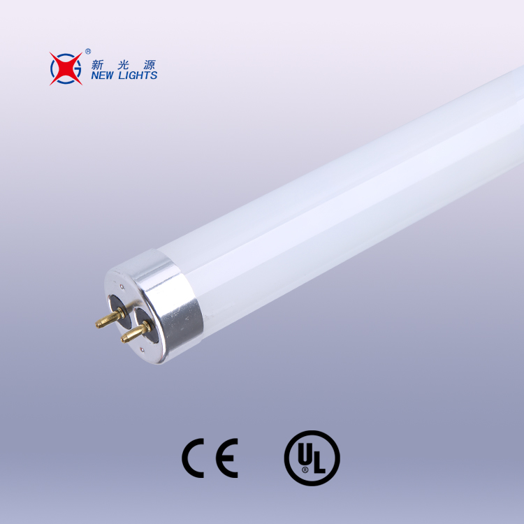 2016 CE T8 Glass led tube lights SMD2835 T8 led tube 8w 600mm with Aluminum end cap