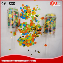 best selling biodegradable party push-pop confetti