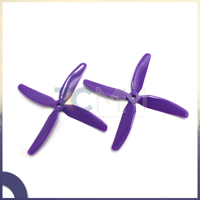 KINGKONG 5040 4 blades 5x4x4 Propeller for 250 FPV Racing Quadcopter ZMR250 for DIY Cross Drones