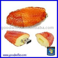 new+hotsale chicken wing usb flash drive 2.0