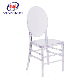 Elegance Crystal Ice Stacking Florence Chair