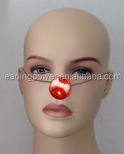LED plastic nose for clown