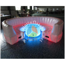 LED Living Room Inflatable sofa bed for sale