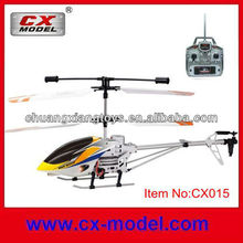 Radio control 3.5 channel alloy led light high speed rc helicopter