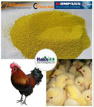 Animal feed additive compound enzymes