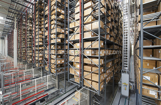 Warehouse Inventory System High Tech Racking AS/RS System