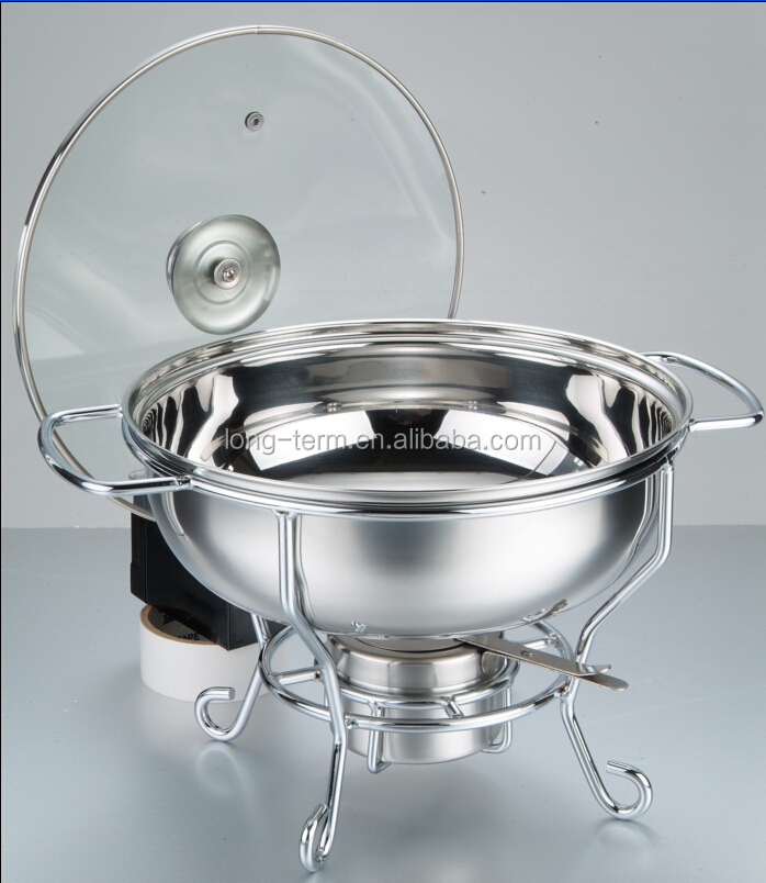CD001 stainless steel roll top chafing dish