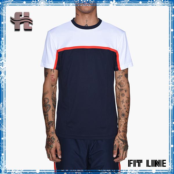 Color Block Men's Comfortable Cotton short Sleeve T Shirts sports Jerseys Plus Size 6xl colors combination T-shirts top