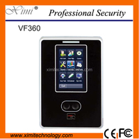 VF360 facial time attendance and access control with RFID card reader face attendance machine TCP/IP time clock device