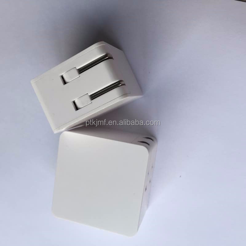 Foldable USB AC/DC 2.0 AMP Power Adapter Wall Charger NEW DESIGN for iPhone 3G 3GS 4 4s 5 5s 5c 6 6 Plus
