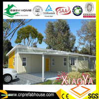 China supplier reliable home prefab smart house 2 bedroom villa