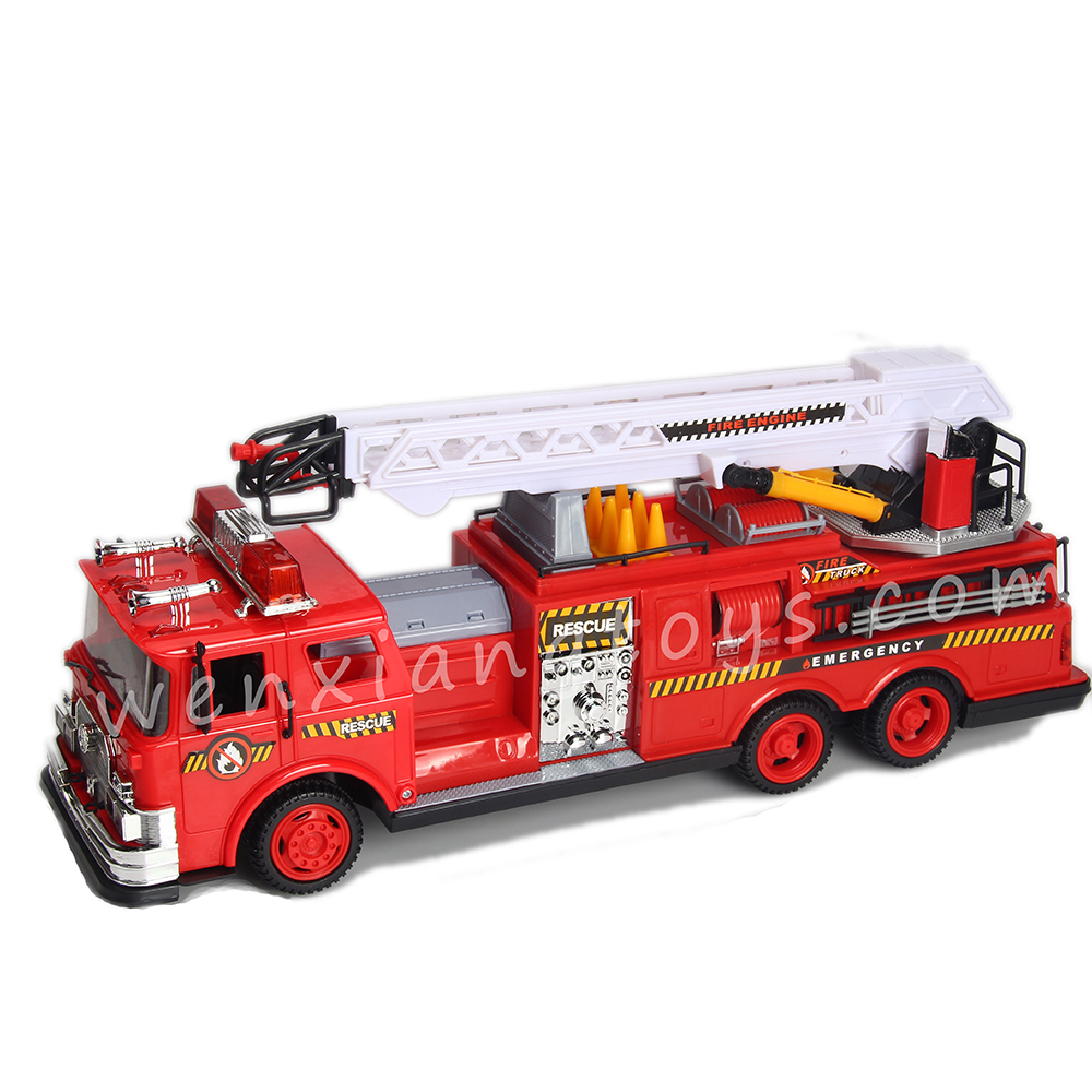monster truck toy scale make model truck fire engine