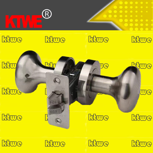keyless passage round knob door lock