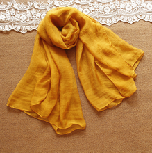 Latest korean new fashion chiffon women's shawls long scarf autumn/winter fashion scarves
