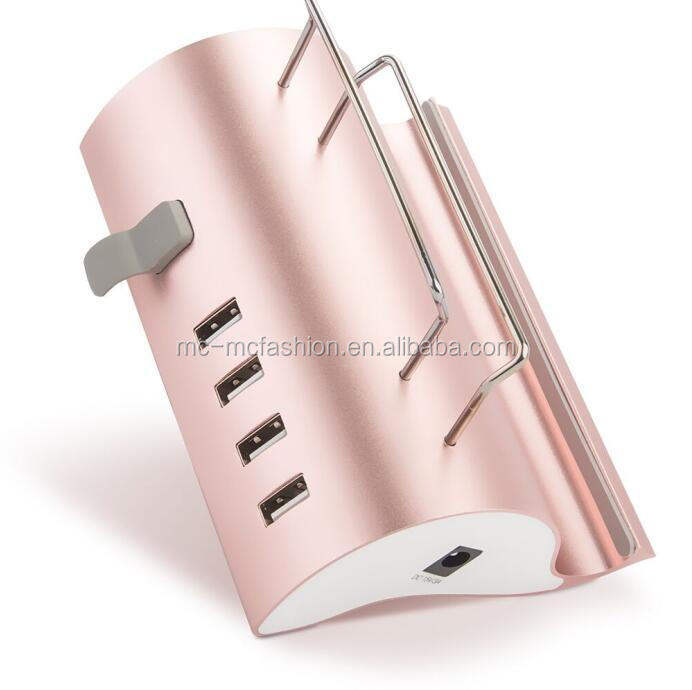 5 port USB charger station / restaurant charging station for all mobile device and tablet charging