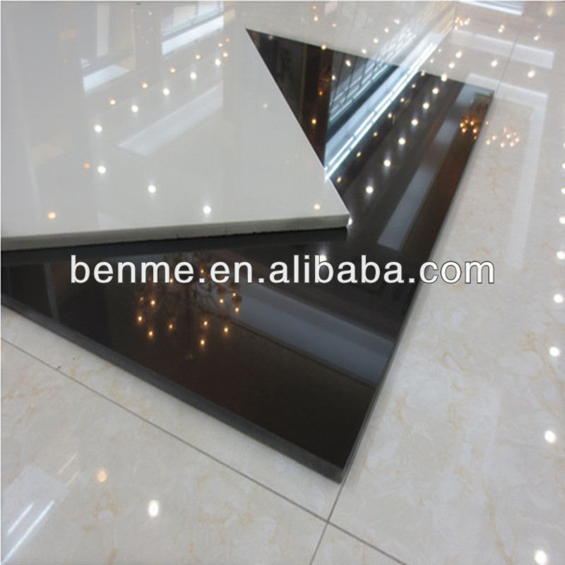 Nano Black Granite Homogeneous Polished Porcelain Tiles X Buy - Are porcelain floor tiles slippery