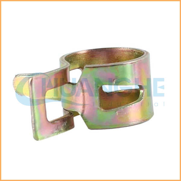 China supplier hot sales metal round t bolt spring hose clamp