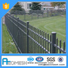 Latest Main Gate Fence Design Portably Strong Yard Fence, Wrought Iron Black Aluminum Fence For Sale