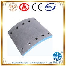 Truck spare parts semi-metal hino commercial vehicle 10 holes brake lining