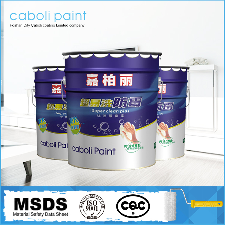 Caboli washable interior wall paint house paint color