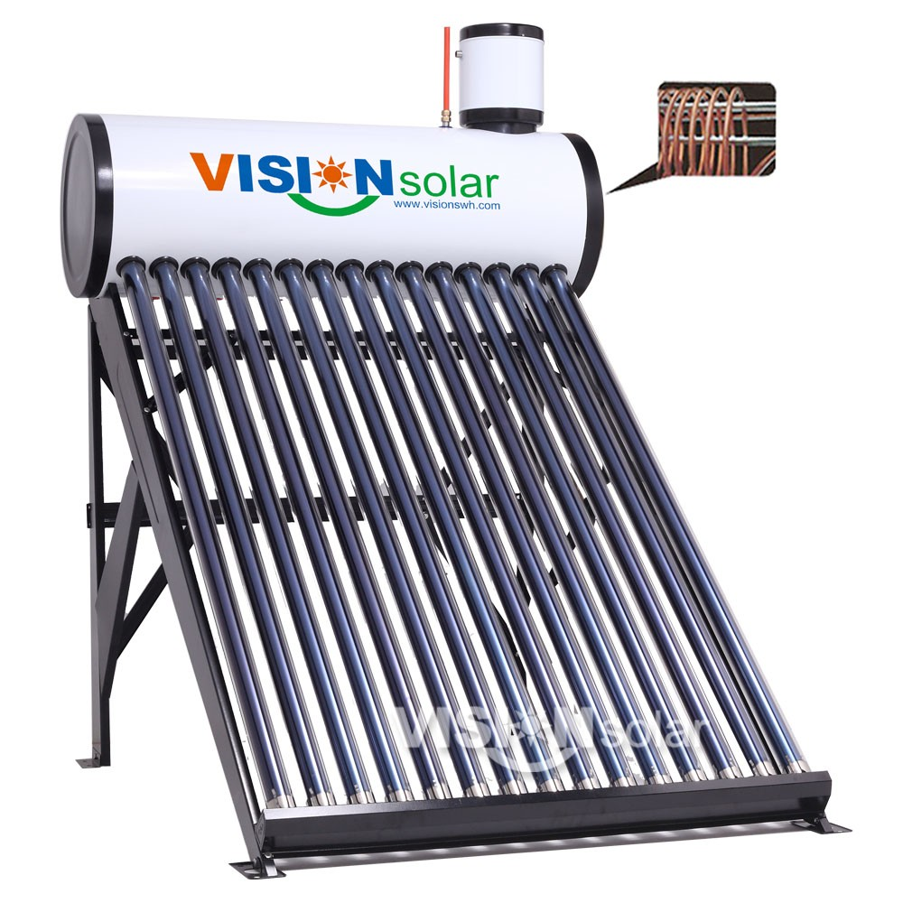 Most demand products super quality copper coil solar geyser made in China