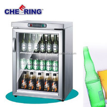 TG-90 bar equipment stainless steel commercial cold counter top display refrigerator for beer display