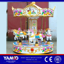 Children Rides 6 Seats Mini Carousel Place In Outdoor/Indoor For Sale!
