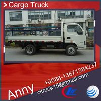 yuejin 4x2 cargo truck,5 tons left hand drive transport vehicle,chengli truck