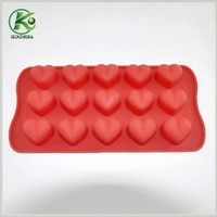 Food grade soft silicone cake mould, chocolate mould for decorative