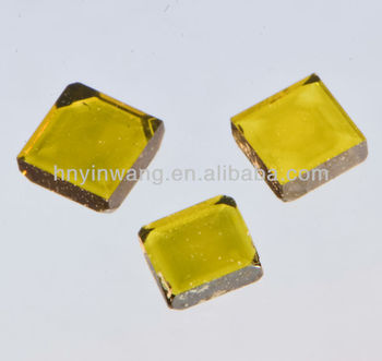 7.0*7.0*1.1 mm Yellow Synthetic HPHT Diamond Plate for Seeds