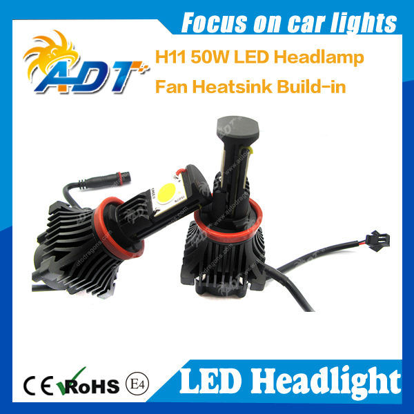 H1 H3 H4 H7 H10/9005 9006 H11 9004 9007 LED Head light for car
