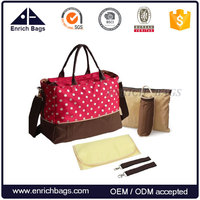 Enrich Hot sale high quality functional adult diaper bag for mother