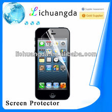 High clear screen protector for iphone 5c,custom screen protector for mobile phone