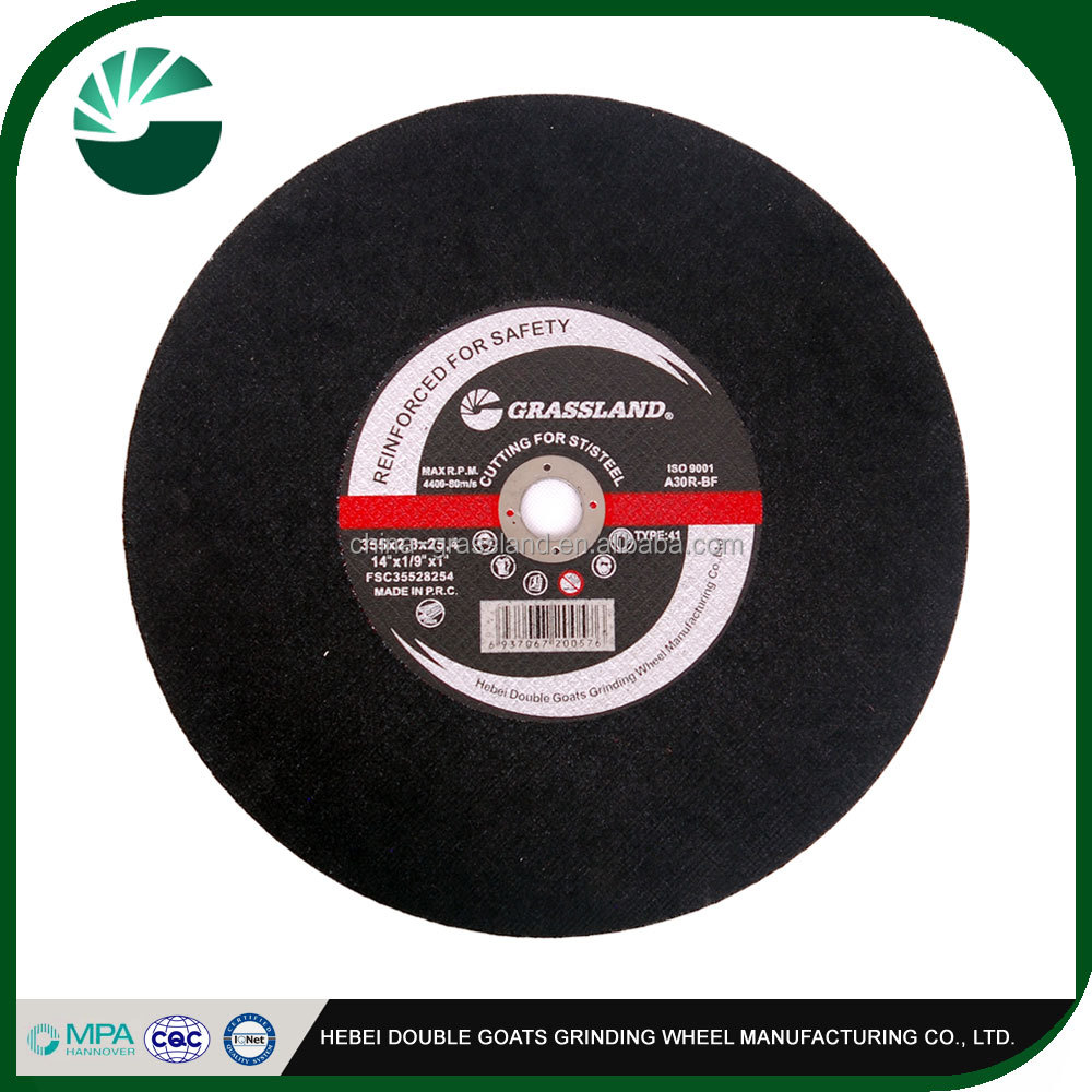 4 inch super thin en12413 disc cutting disc 4'' cutting wheel special shape stainless steel polishing disc