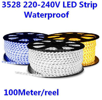 2015 Hot Sale High voltage flex led strip lights 5050 SMD 3528 led flexible strip