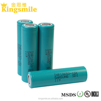 Promotional wholesale 3.7V 1500mah samsung inr 18650 15K lithium ion battery cell