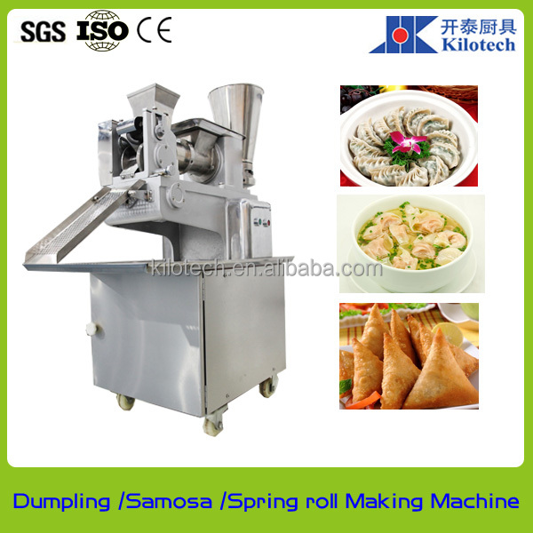 Chinese dumpling making machine, India momo making machine