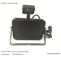 IC Driverless Linear constant current drive power supply led flood light RCM australia standard