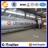 Brand New any capacity 36000l 42000l 45000l 60000 Liters fuel oil tanker dolly semi trailer