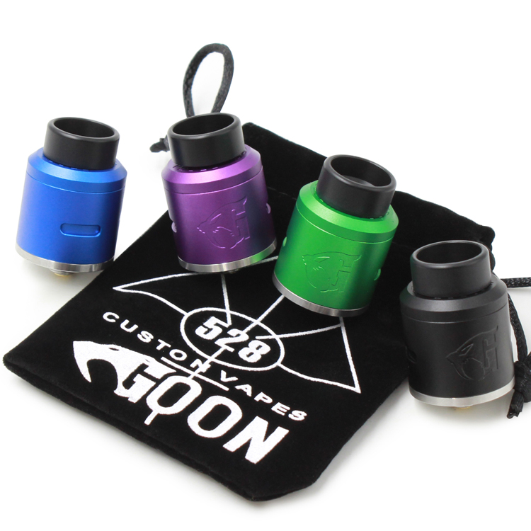 Large stock! new batch goon rda v1.5 clone 528 rdta 24mm with high quality on sale