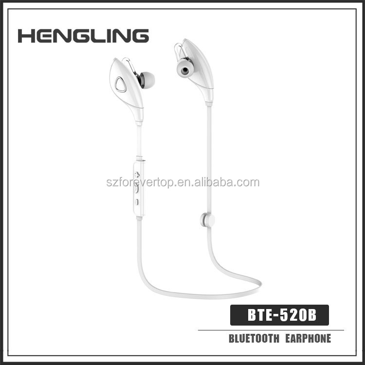 3.5mm jack Noise Cancelling Waterproof couple bluetooth headset bluetooth headset mini bluetooth earbud BTE-520B
