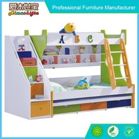 Eco friendly kids bunk bed 3 layers