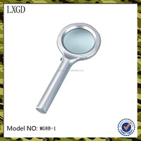 MG8B-1 Hot sales high quality straight shank handheld Led lighting magnifying glass