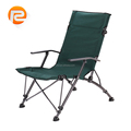 Customized new design folding chair with padded seat and back